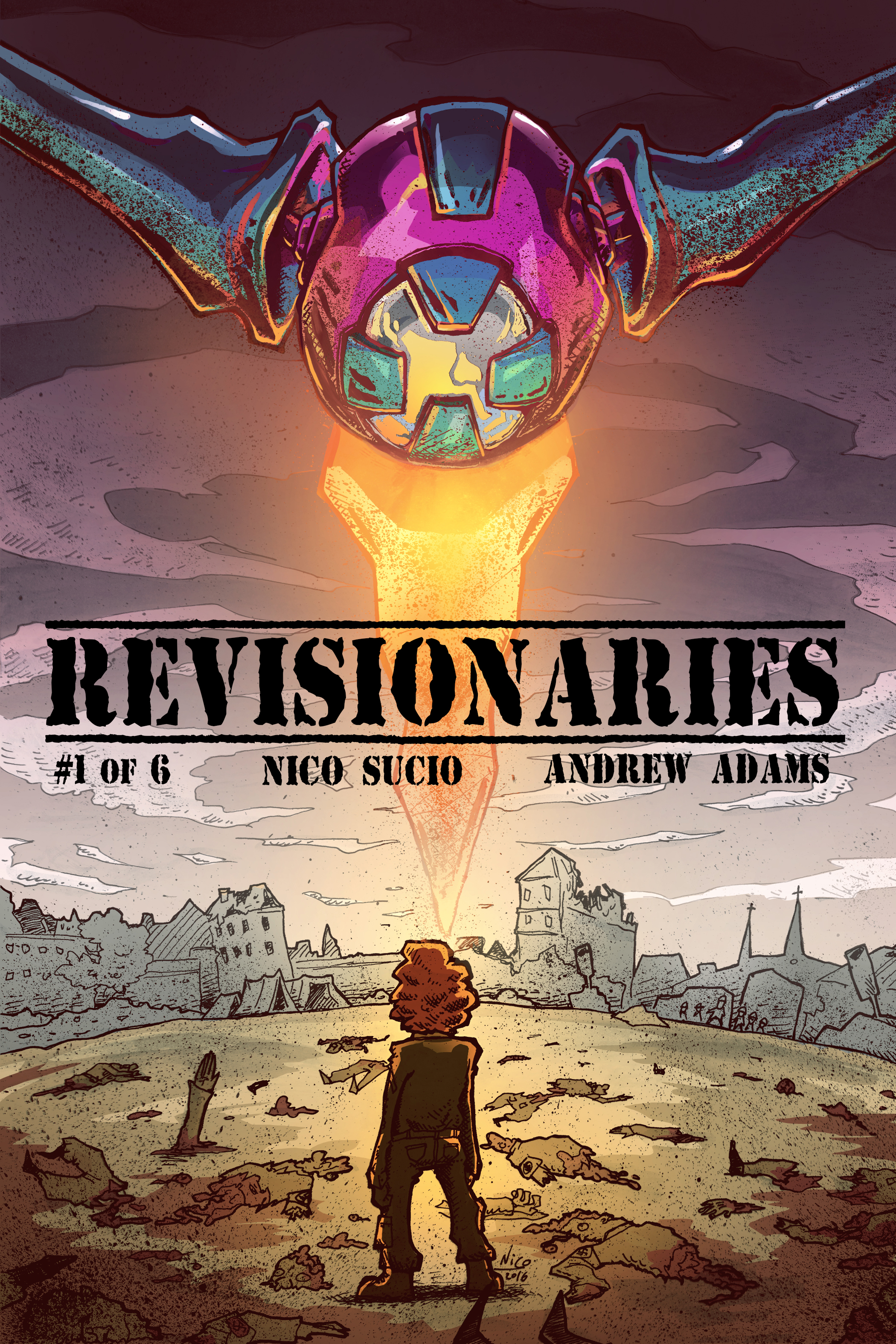 Revisionaries #1 [Cover]